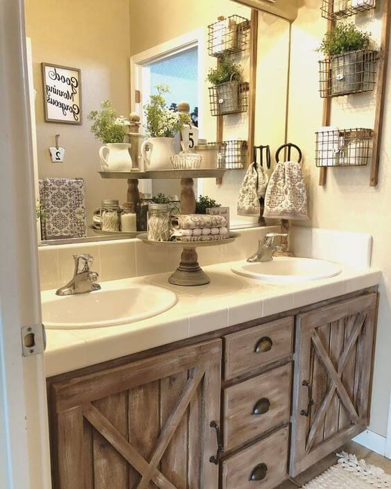 21+ Unbelievable Rustic Bathroom Ideas (Easily Applicable .