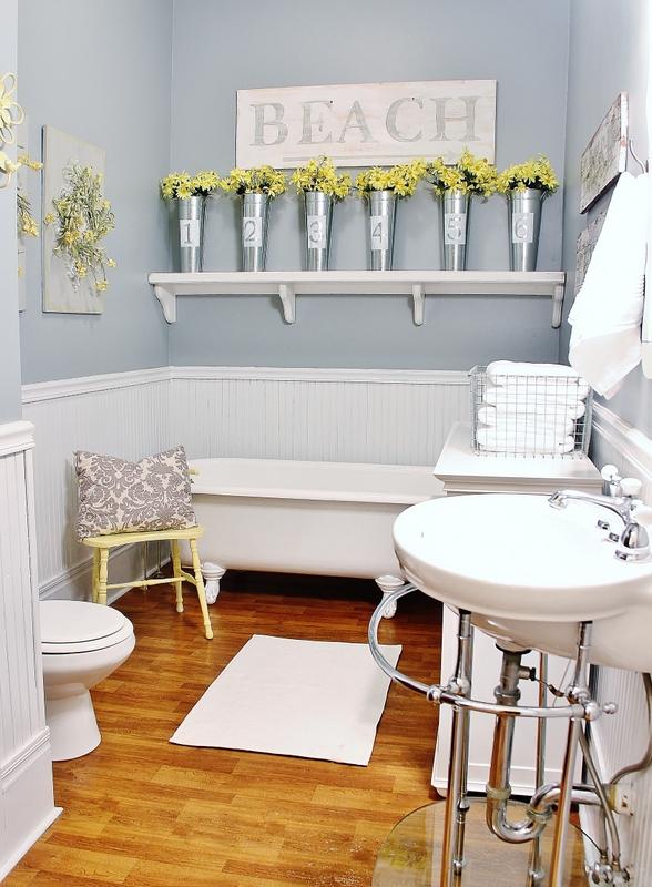 Farmhouse Bathroom Decorating Ideas | Thistlewood Far