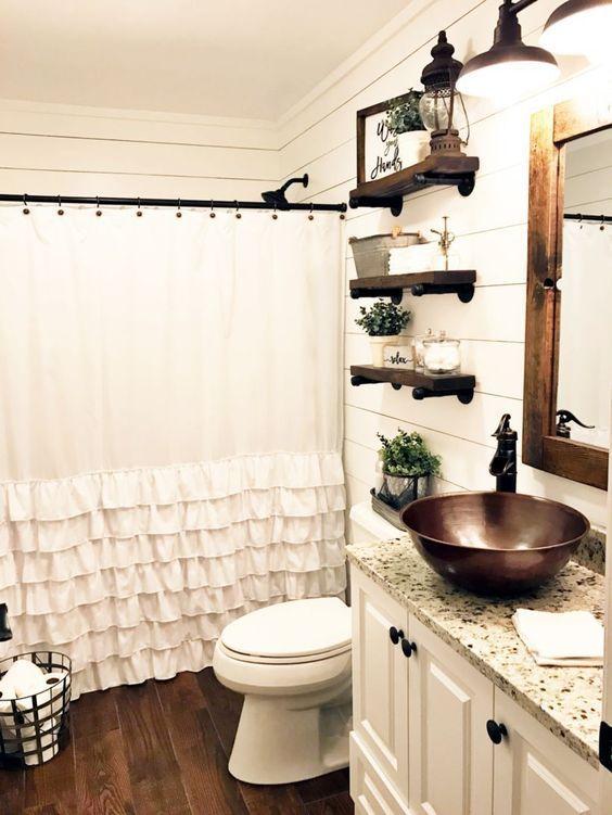 farmhouse bathroom decorating ideas