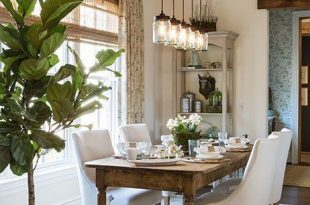 Fresh Farmhouse Lighting | Farmhouse dining room table, Dining .