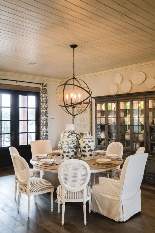 Modern Farmhouse Dining Room Decor Ideas | Farmhouse dining room .