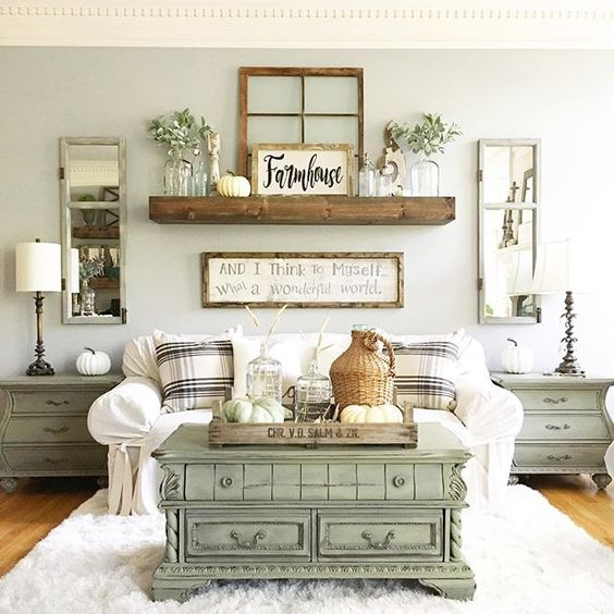 15 Gorgeous Farmhouse Decor Ideas For Your Living Room | The .