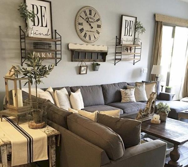 How to Decorate Luxurious Farmhouse Living Room? - Love-KANK