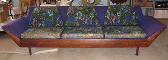 Mid-century Flexsteel sofa - NaturalUpholstery.c