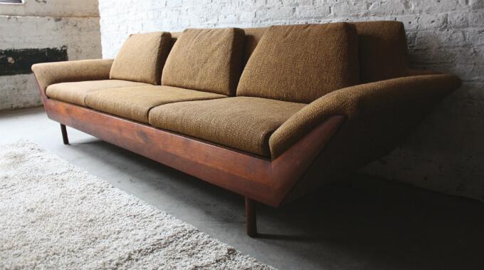 The Thunderbird Sofa is Back! | Flexsteel's Mid-century Modern So