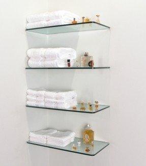 Floating Glass Shelves For Bathroom - Ideas on Fot