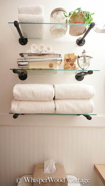 Clever Ways to Add Storage Space to a Bathro