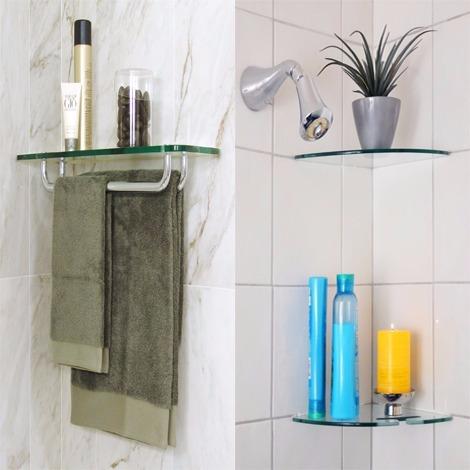 Elegant Glass Shelf For Bathroom What I The Importance Of Shelving .