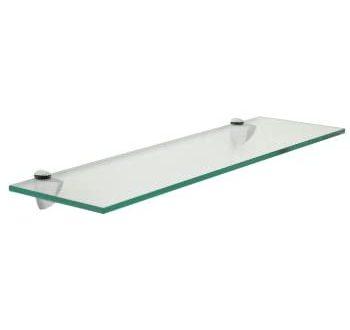 Amazon.com: Floating Glass Bathroom Shelf Finish: Chrome, Size: 30 .