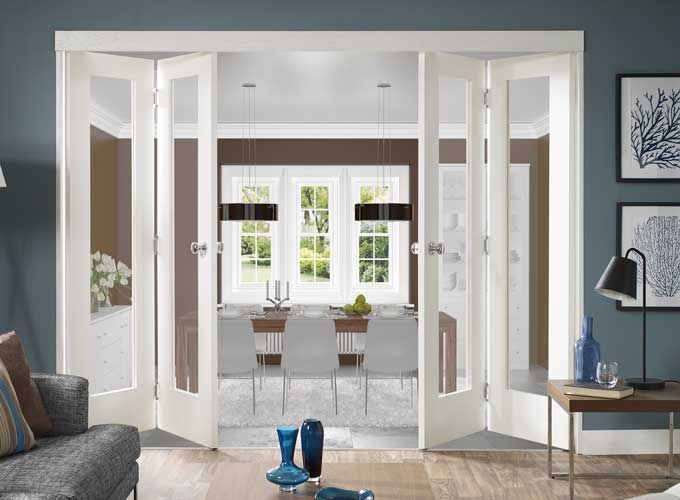 Folding Doors Uk Interior | French doors interior, Glass doors .