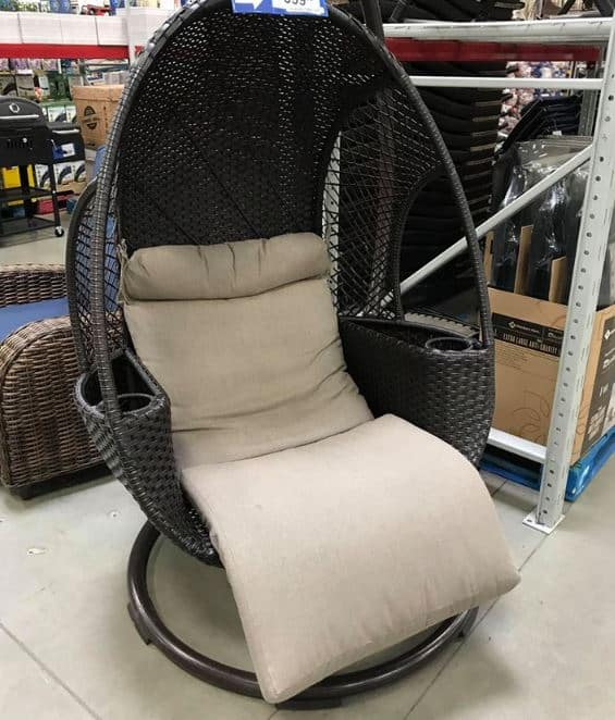 Sam's Club: The Hanging Egg Chair We All Want! (BACK IN STOCK