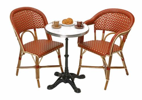French Bistro Tables And Chairs