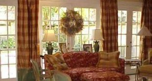 Classic and Authentic French Country Curtains   French country .