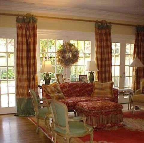 French Country Curtains For Living Room