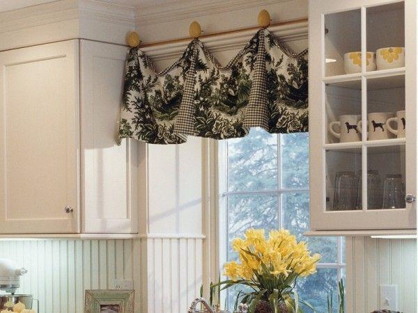 French Country Kitchen Window Curtains | Kitchen sink window .