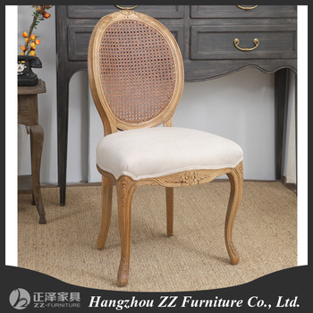Hand Curved Vintage French Fabric Dining Chairs - Buy Hand Curved .