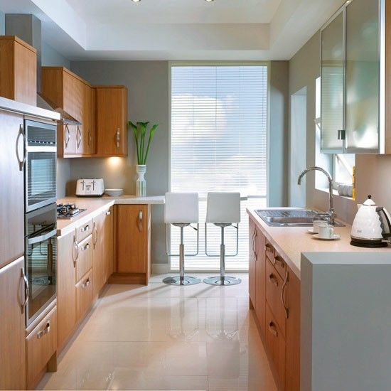 Galley kitchen ideas that work for rooms of all sizes – Galley .