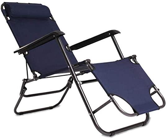 Amazon.com : XXHDEE Sun Lounger Reclining Folding Gravity Bed .