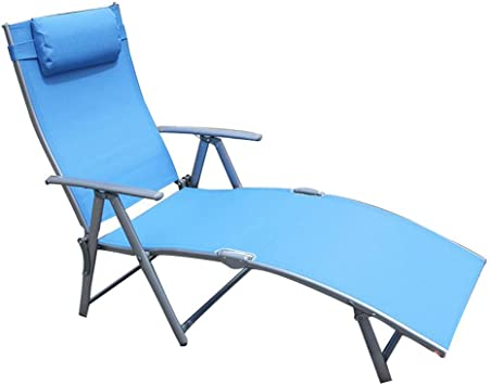 Amazon.com : Sunbed Reclining Garden Chair Folding Zero Gravity .