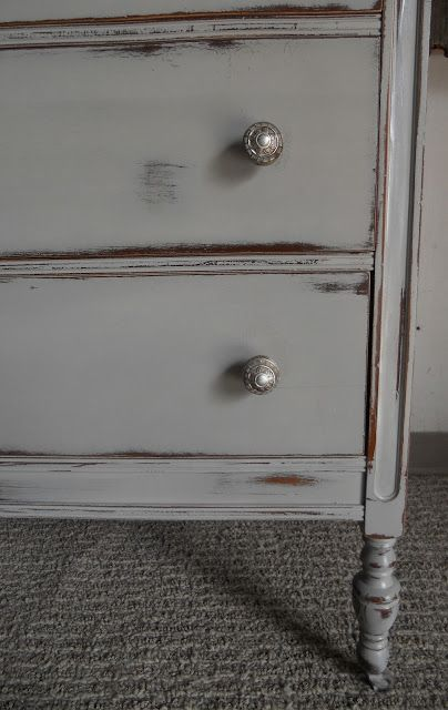 French Dresser | Chalk paint bedroom furniture, Painted bedroom .