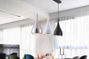 Modern Restaurant Pendant Lights Minimalist LED Hand Lamp Dining .