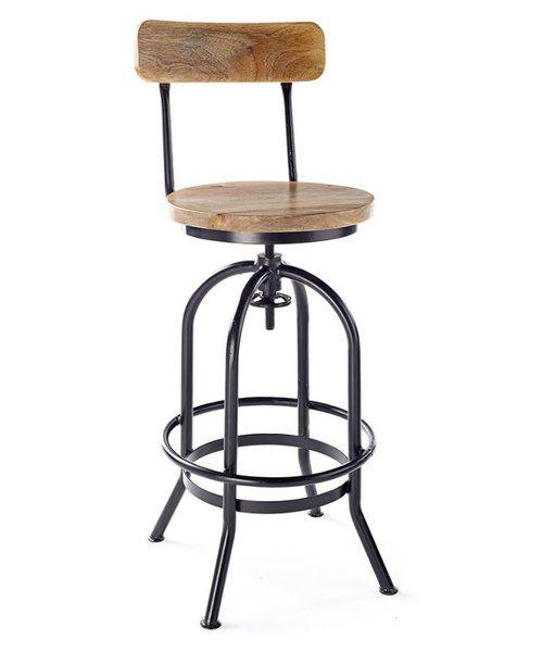 Adan Height Adjustable Swivel Bar Stool | Bar stools, Swivel bar .