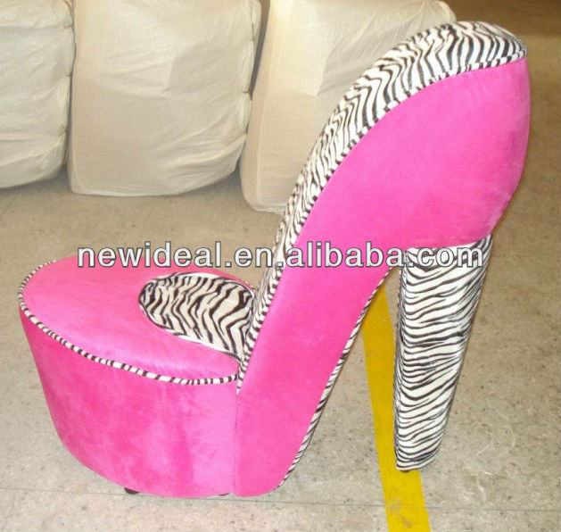 Fabric High Heel Shoe Chair (no72r) - Buy High Heel Shoe Chair .