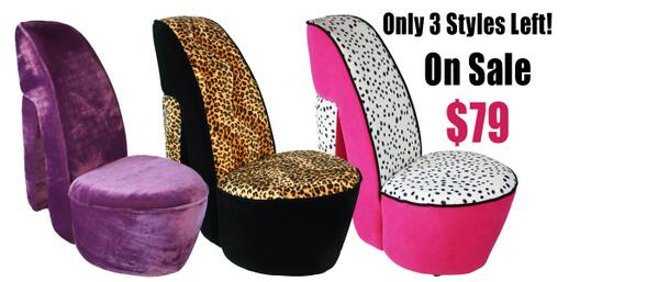 "High Heel Shoe Chair on Twitter: ""Here is a deal for you last ."