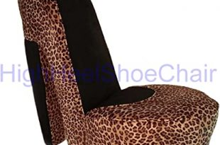 Amazon.com: Leopard High Heel Shoe Chair: Kitchen & Dini
