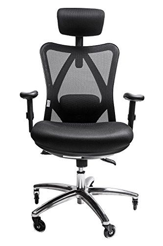 Sleekform Ergonomic Adjustable Office Chair| Adjustable High Back .