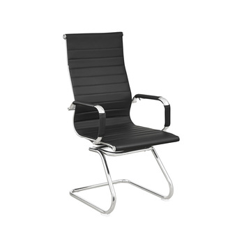Modern High Back Office Chair Without Wheels - Buy Office Chair .