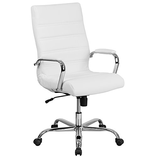 Amazon.com: Flash Furniture High Back Office Chair | White .