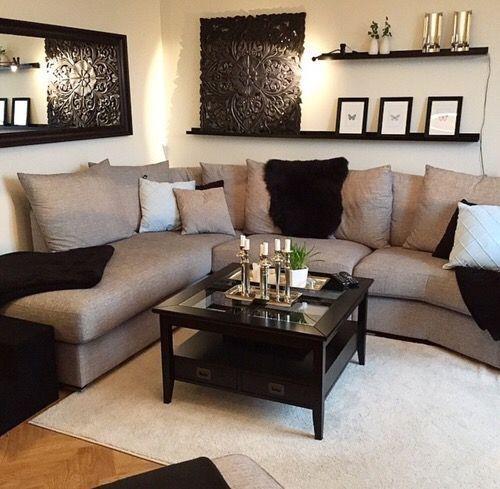50+ Brilliant Living Room Decor Ideas   Family room decorating .