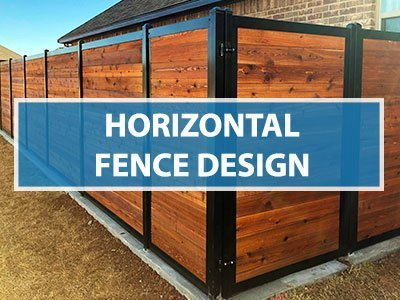 Horizontal Fence Design: A Modern (And More Beautiful) Approa