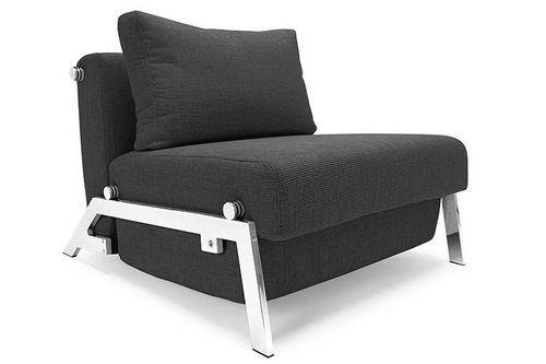Cubed Sleek Chair Black Lavish by Innovation | Sofa bed design .