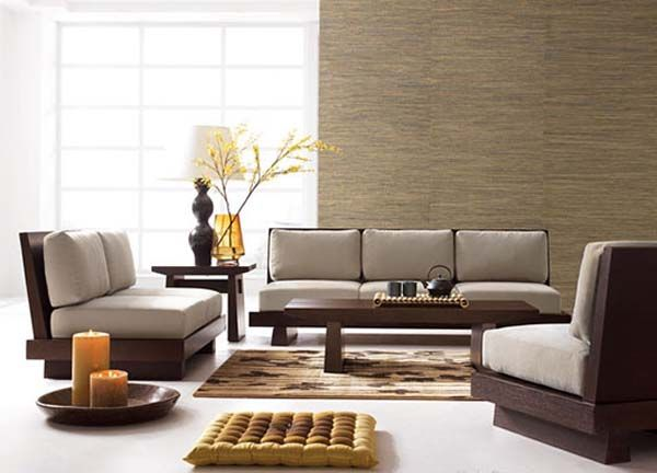 japanese style | asian style living room furniture sets from Haiku .