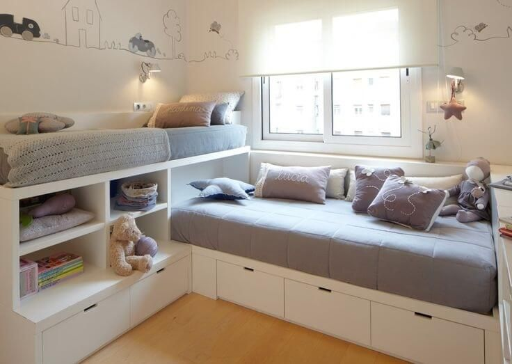 12 Clever Small Kids Room Storage Ideas   Small kids room, Storage .