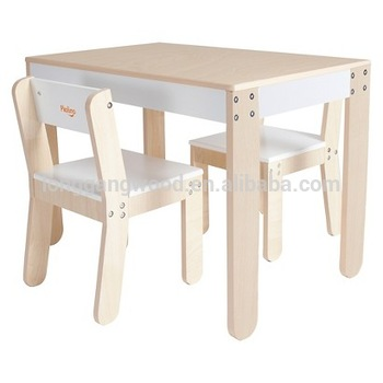 Modern New Design Furniture Kids Wood Table And Chair Set Kids .