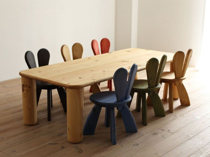 Wooden Kids Table And Chairs 10 cadeiras de - Home Decor Ide