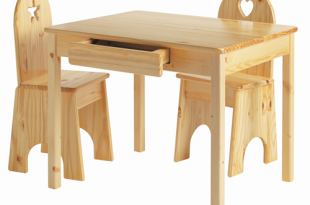 Kids Wooden Table & Chairs Set | Childr