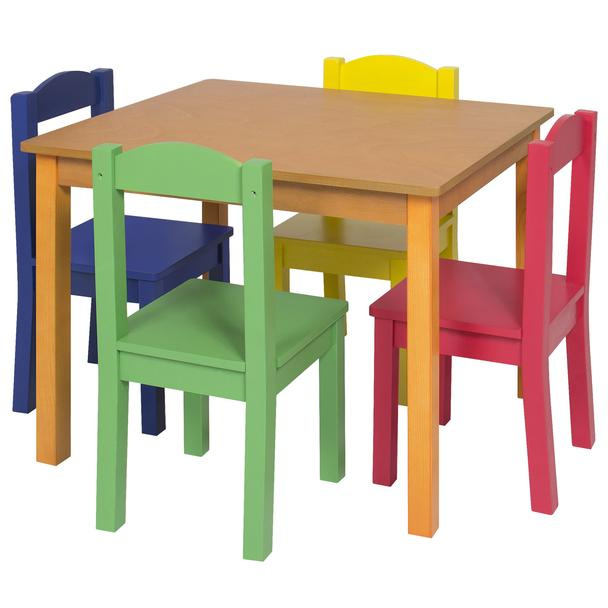 Wood Tables and wooden chair at Daycare Furniture Direct. Wooden .