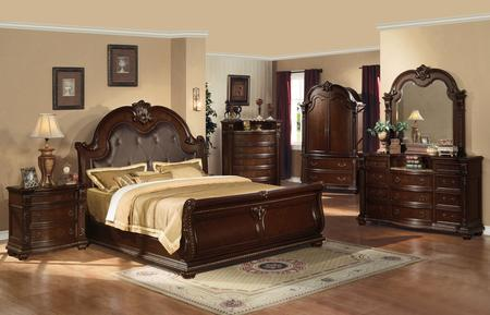 King Bedroom Set With Armoire