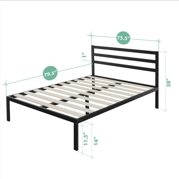 Shop Priage 3000H King-Size Platform Bed Frame with Headboard .