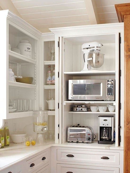 10 Snazzy Ways to Organize and Store Small Appliances | Clever .