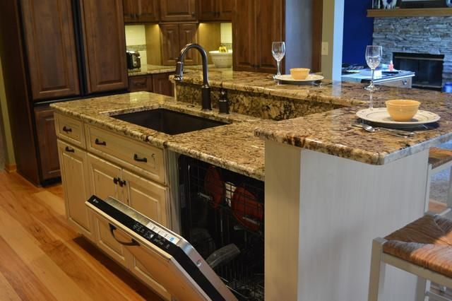 Kitchen Sink Dishwasher #3 - Kitchen Islands With Seating Sink And .