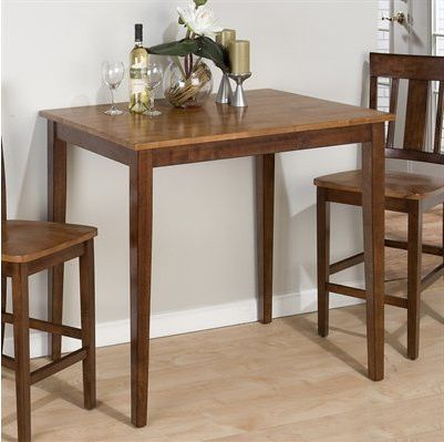 Eating In: Square Bar Tables for Small Kitchens | Small kitchen .