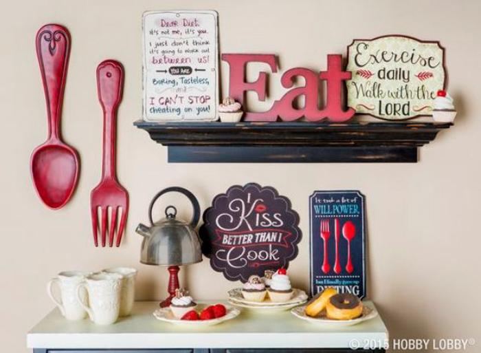 40 DIY Kitchen Wall Decor Ideas: Creative Farmhouse and Modern Deco