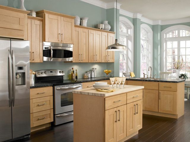 Impressive Ideas For Light Colored Kitchen Cabinets Design Light .