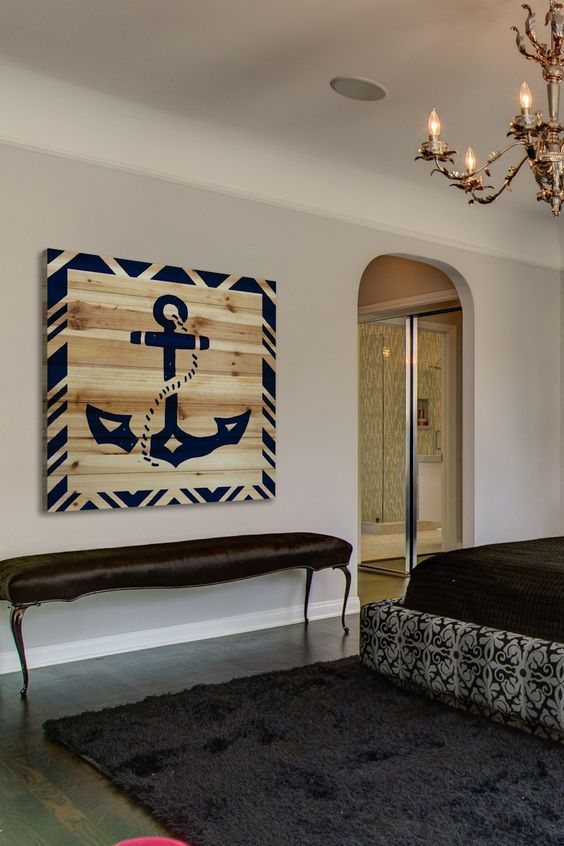 13 Nautical Wall Decorations for Your Beauty Home | Nautical theme .