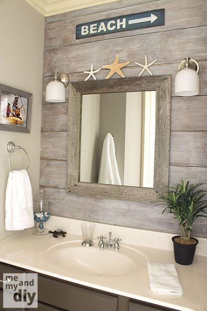 REVIVAL MONDAY #118 | Beach theme bathroom, Beachy bathroom, House .